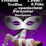 Pornstar Privat Date 01.02. & 02.02. 2018 Oberhausen